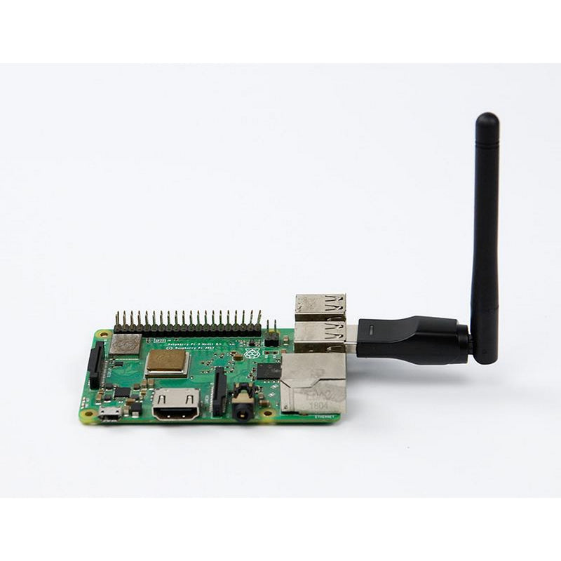 2.4GHz USB WiFi Adapter (Driver-Free for Jetson Nano A02, B01, 2GB)
