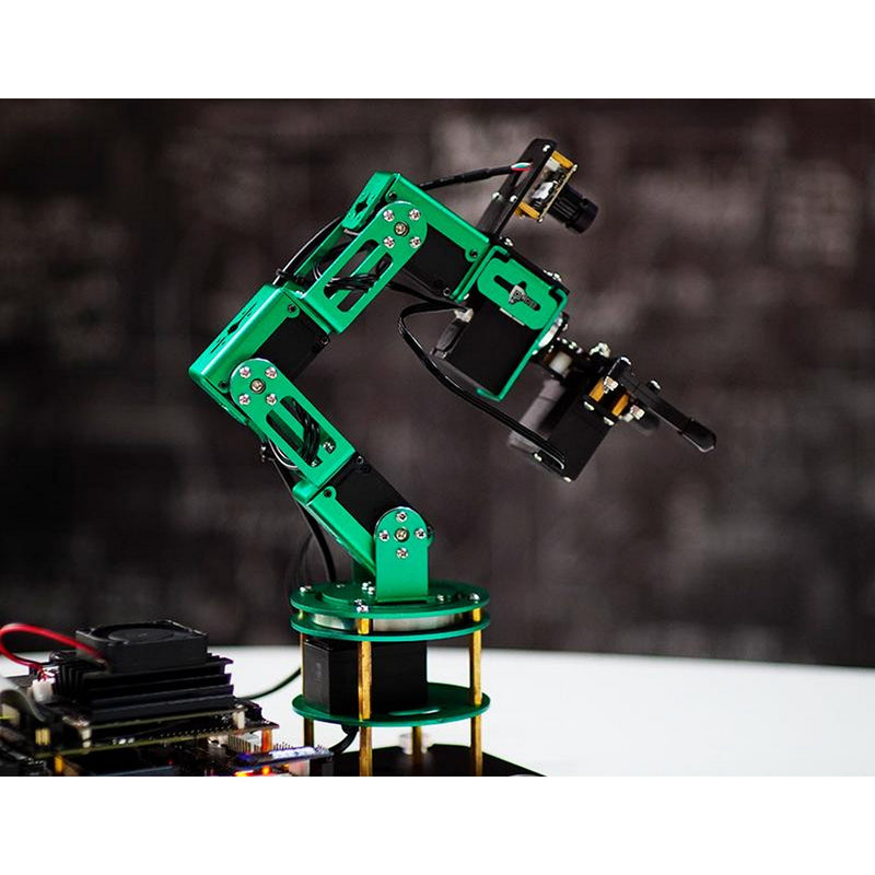 Yahboom DOFBOT AI Vision Robotic Arm with ROS for Jetson Nano 4GB B01 Developer Kit