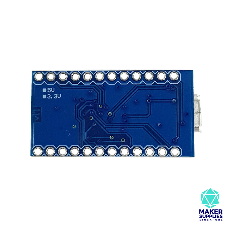 Pro Micro Compatible Unsoldered