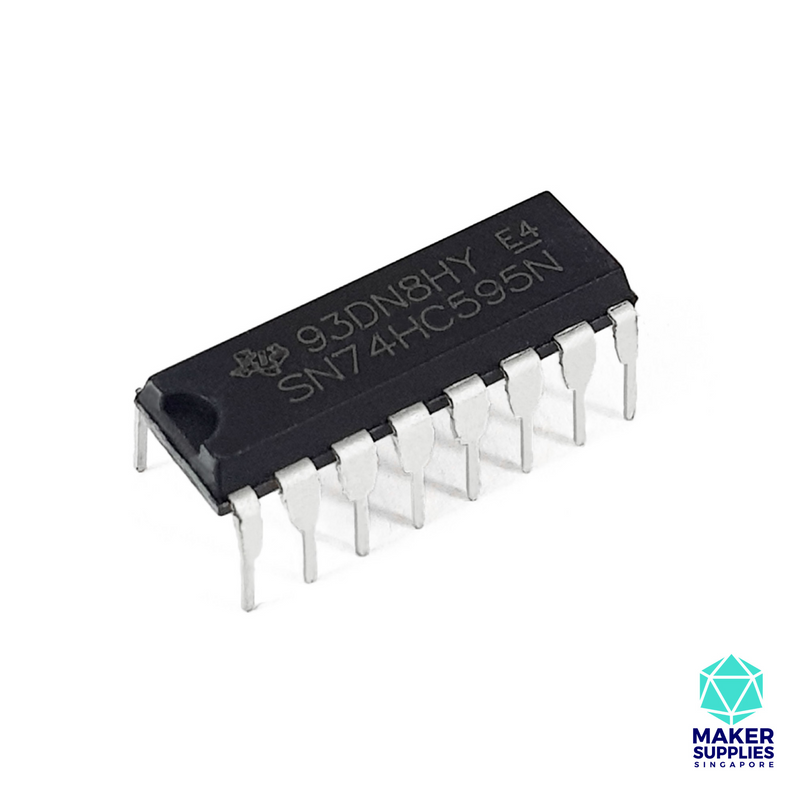 8-bit Shift Register (74HC595)