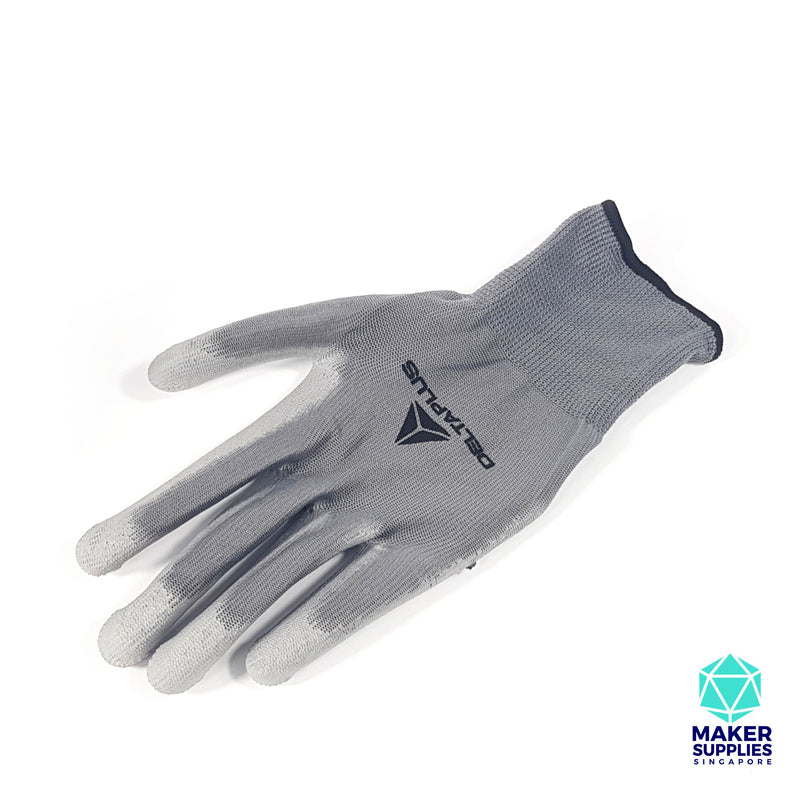 DeltaPlus PU Coated Work Gloves (L)