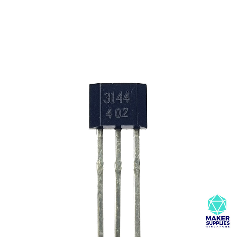 A3144 Hall Sensor (Magnetic Field Sensor)