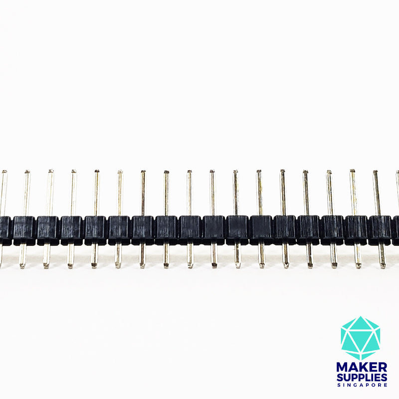 2.54mm Male Header 40 Pins Strip Single Row