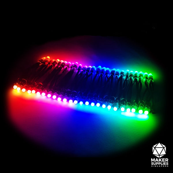 WS2811 Waterproof Programmable RGB LED