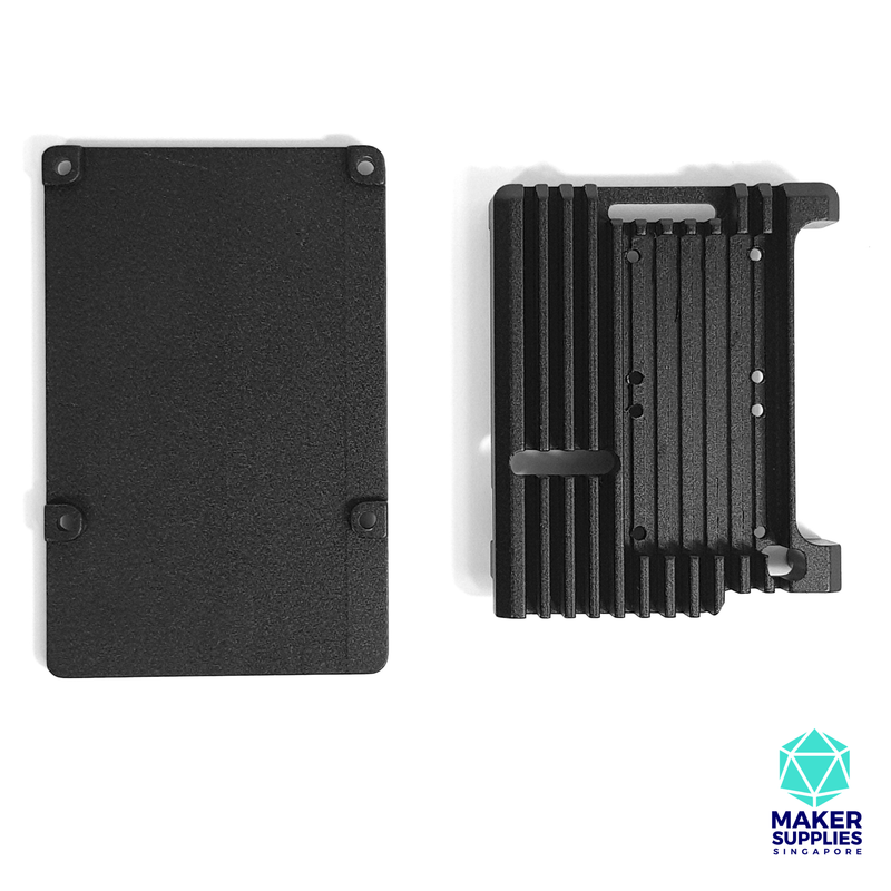 Raspberry Pi 4 Aluminium Casing with Cooling Fans