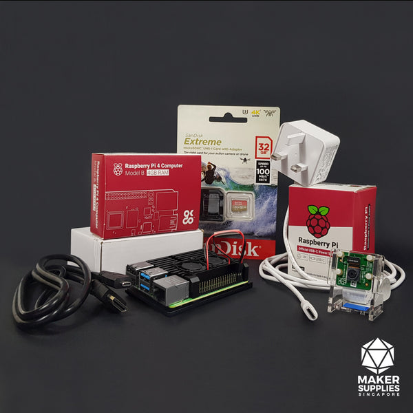 Raspberry Pi 4 Ultimate Bundle with Aluminium Casing