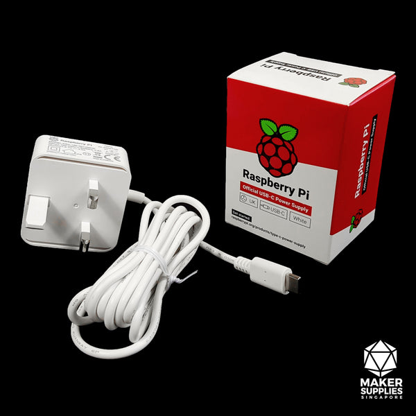 5.1V 3A 15.3W USB-C Power Supply (Official Raspberry Pi )
