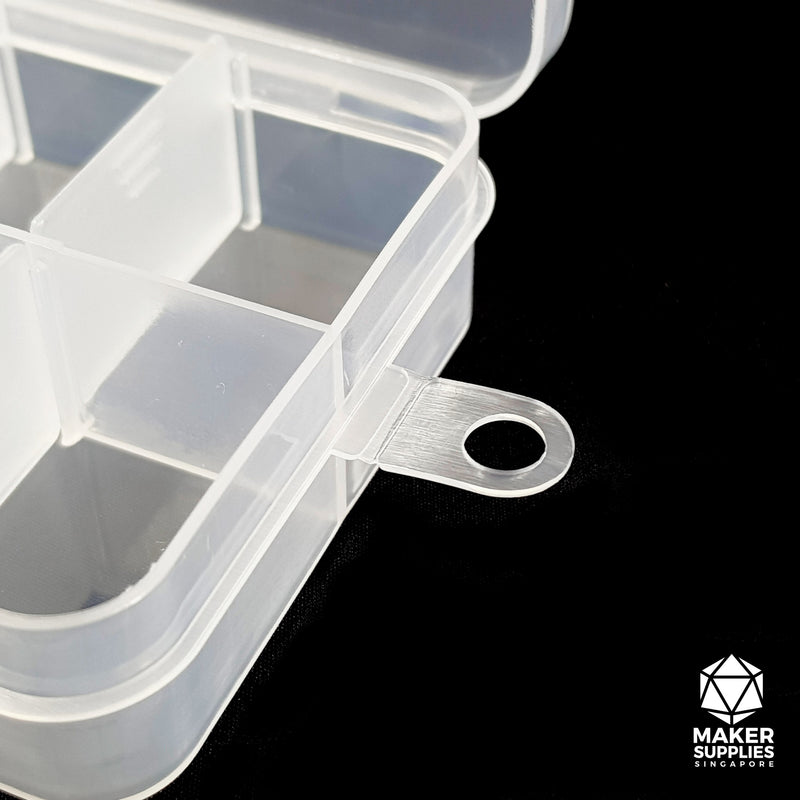 Small Components Box (Removable Dividers) 10 Compartments