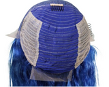 Blue Flame Front Lace Wig