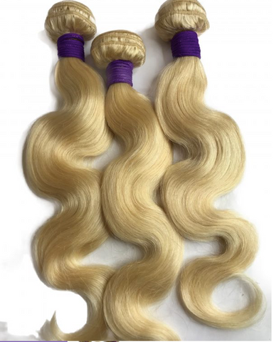 613 Russian Blonde Body Wave