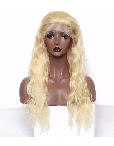 Brazilian Blonde Body Wave Front Lace Wig
