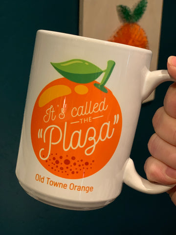 It's Called the Plaza Mug 15oz