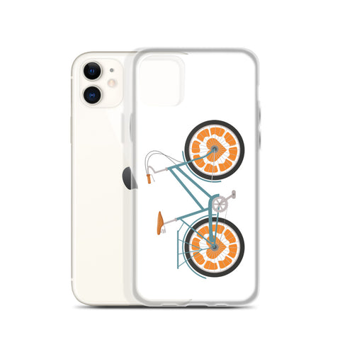 iPhone Case Orange Bicycle