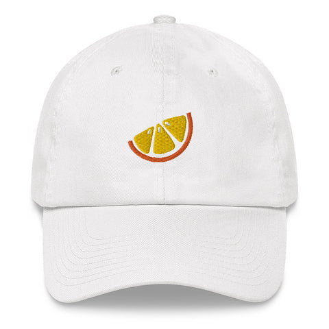 Orange Slice Dad Hat