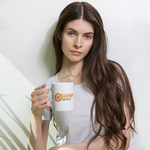 Orange Native Mug