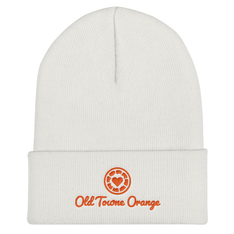 Old Towne Orange - Embroidered Cuffed Beanie