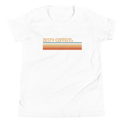 Zesty Content Youth Short Sleeve T-Shirt