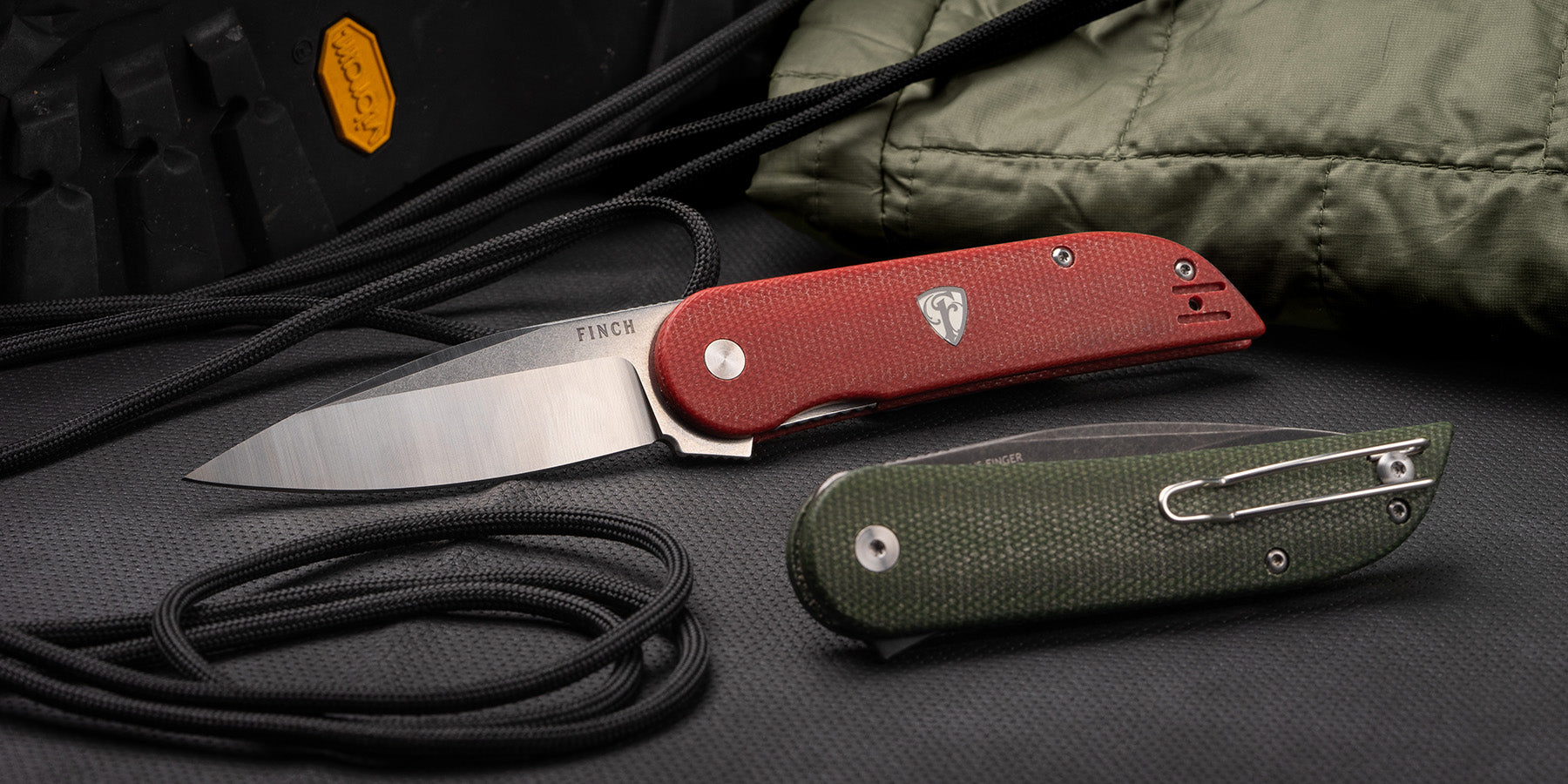 Devil's Finger pocket knives from FINCH