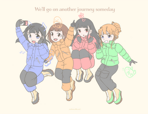 We'll go on another journey someday