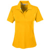 Ladies Charger Performance polo - Sport Ath Gold