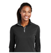 NEW Sport-Tek Ladies Sport-Wick Textured 1/4-Zip Pullover