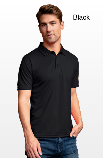 Men's Vansport Omega Solid Mesh Tech Polo