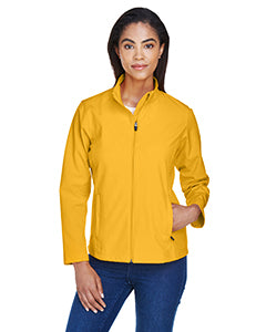 Women's Soft Shell Jacket - Sport Ath Gold