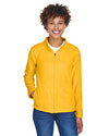 Women's Campus Microfleece Jacket - Sport Ath Gold