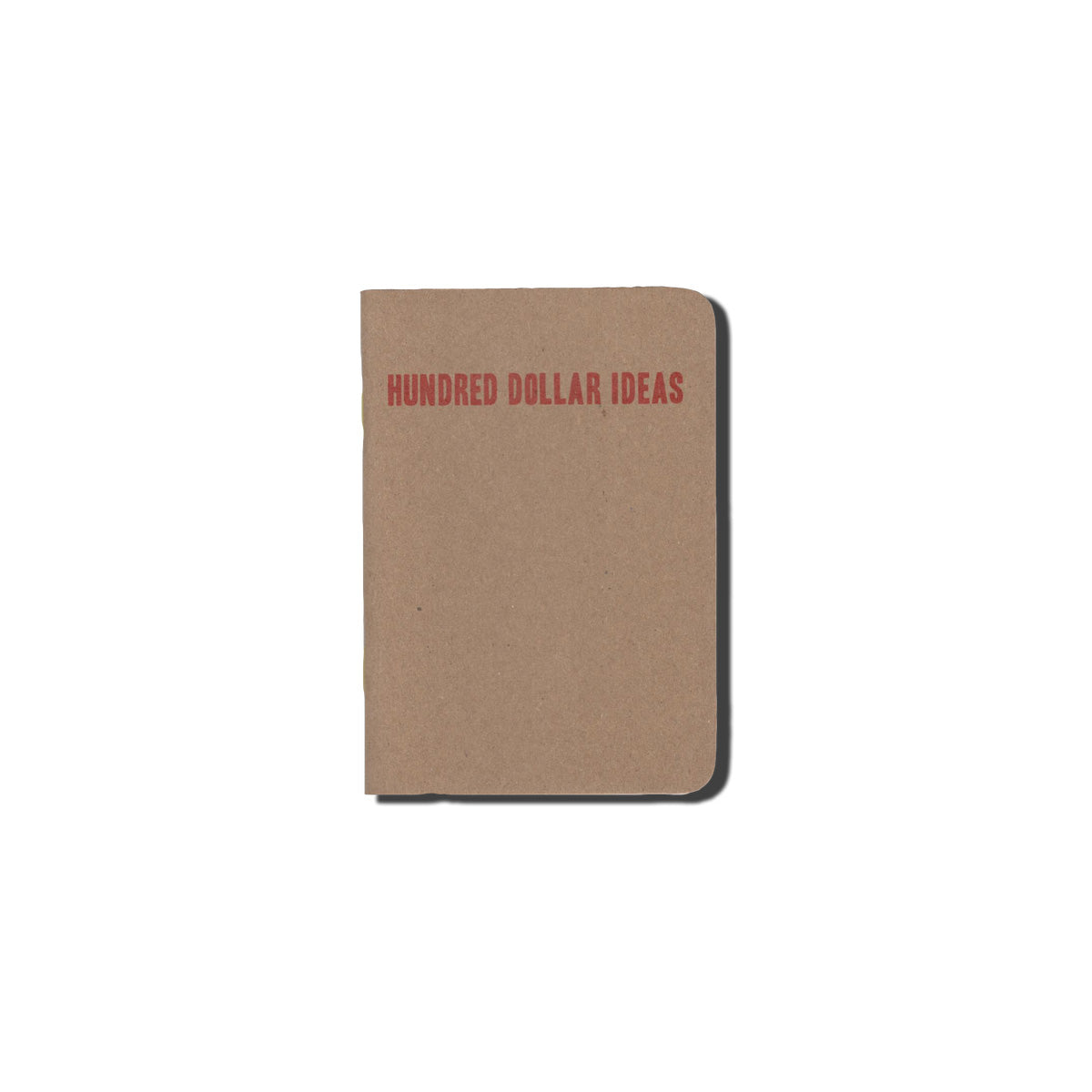 Hundred Dollar  Ideas Notepad