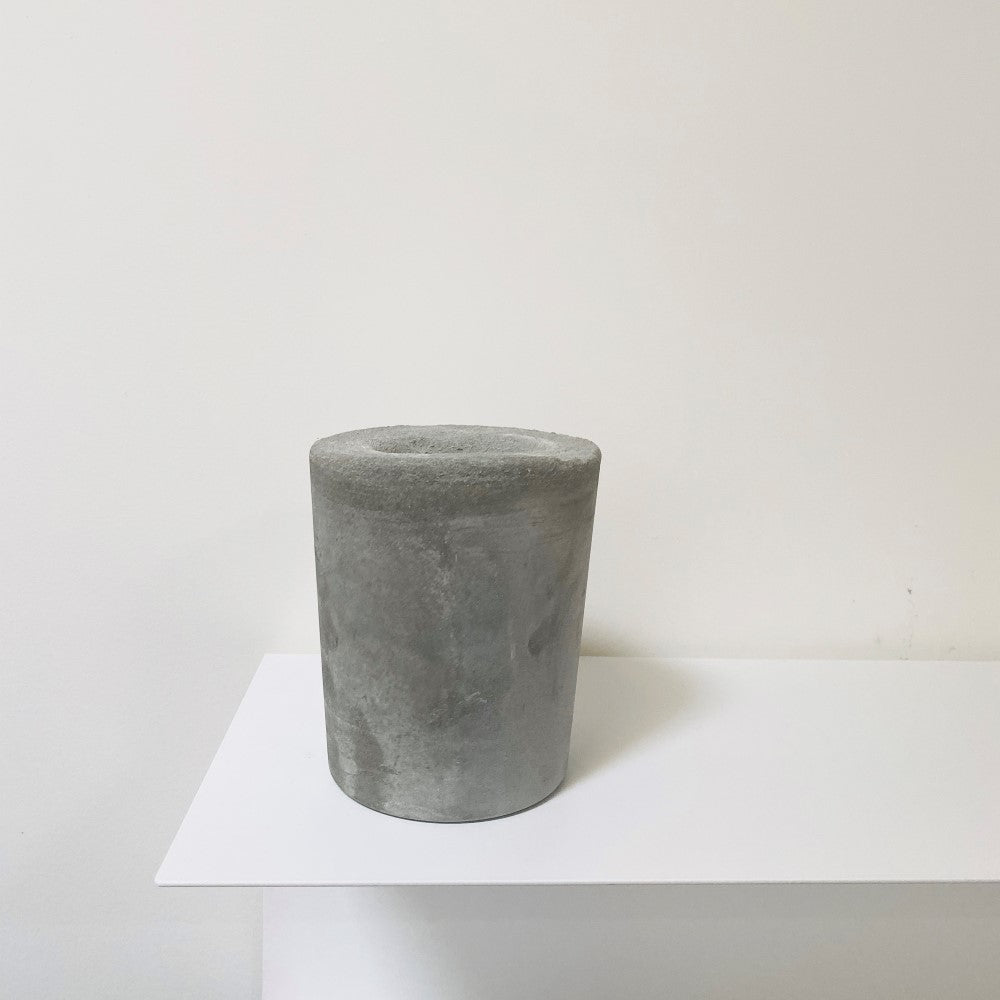 Concrete Chinese Soup Vessel