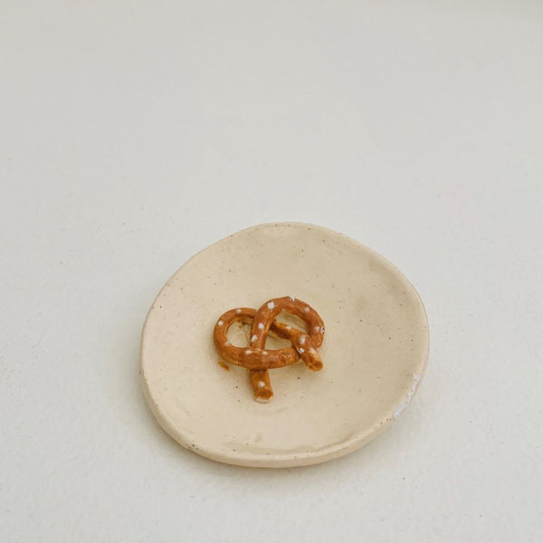 Small Ceramic Pretzel Dish
