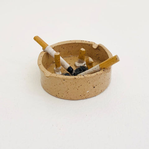 Ceramic Ashtray Sculpture