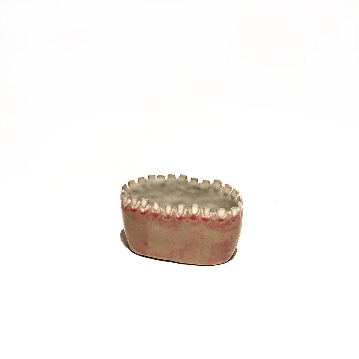 Smaller Ceramic Teeth Planter