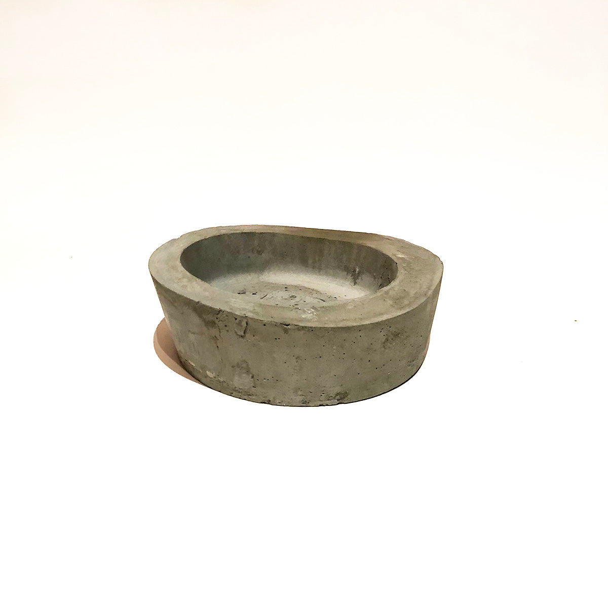 Concrete Rough Edge  Bowl