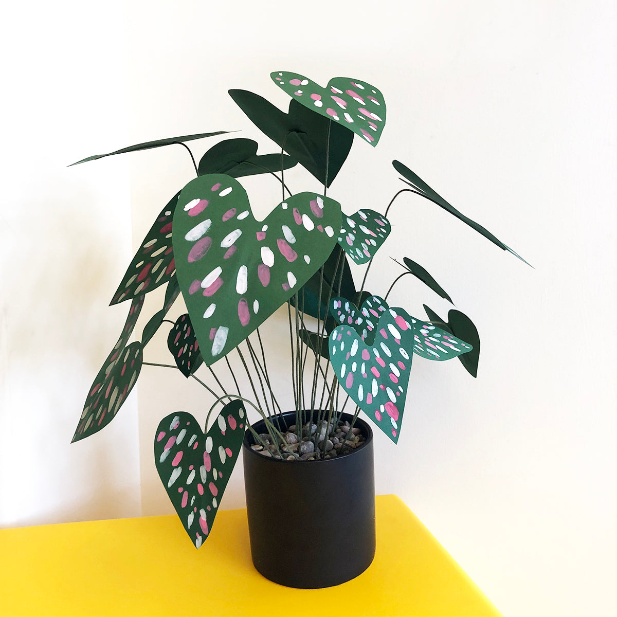 Paper Craft Potted Plant Medium