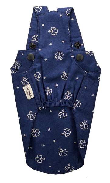 Boy Overall Little Angels - Silver on navy