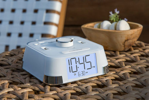 The Brandstand CubieTime charging alarm clock is available in US, UK and EU versions.