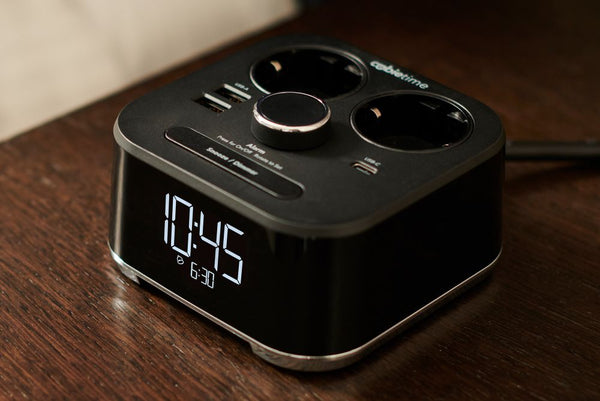 The CubieTime EU charging alarm clock already features a USB-C port.