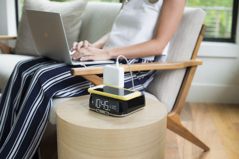 Add wireless charging to any hotel room with Brandstand's Qi Wireless charging products.