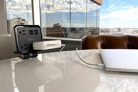 Convenient Brandstand charging stations enable guests to power their most important devices.