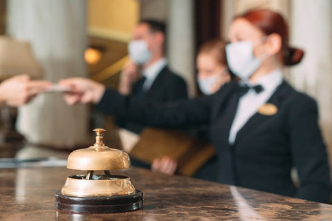 The hotel industry has adapted to Covid-19 with new safety measures - Brandstand