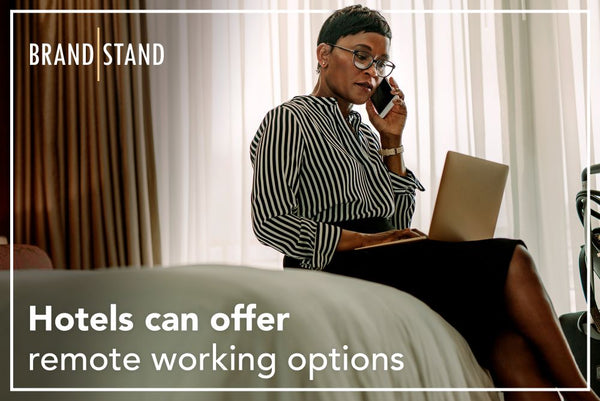 Hotels have hired out their empty rooms as 'day use offices' - Brandstand
