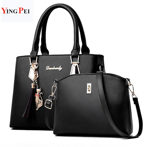 women bag two packages