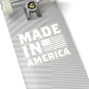 Made In America Flag Sticker