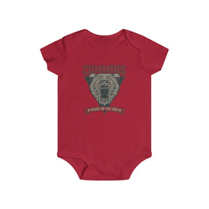 C Bear Triangle Infant Rip Snap Tee