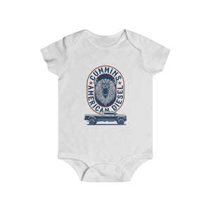 Bear American Diesel Infant Rip Snap Tee