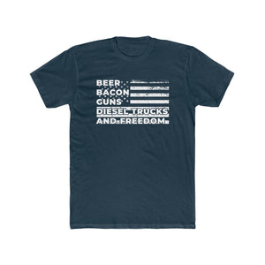 Beer Bacon Guns Diesel Trucks and Freedom T Shirt