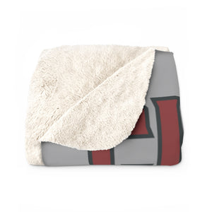 Bear Triangle Sherpa Fleece Blanket