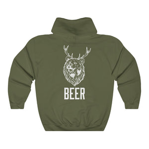 Beer Bear Double Sided Lightweight Hoodie