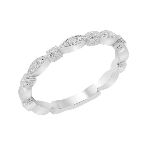 Geometric Knotted Diamond Band